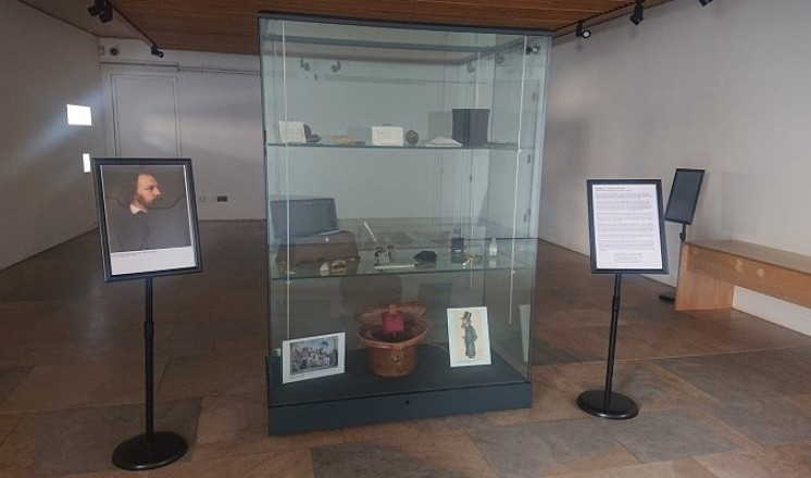 The Tennyson Spotlight Display is open in the Courtyard Gallery until Thursday 15th November