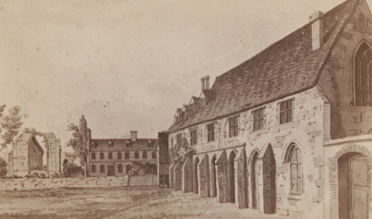 Greyfriars in 1764