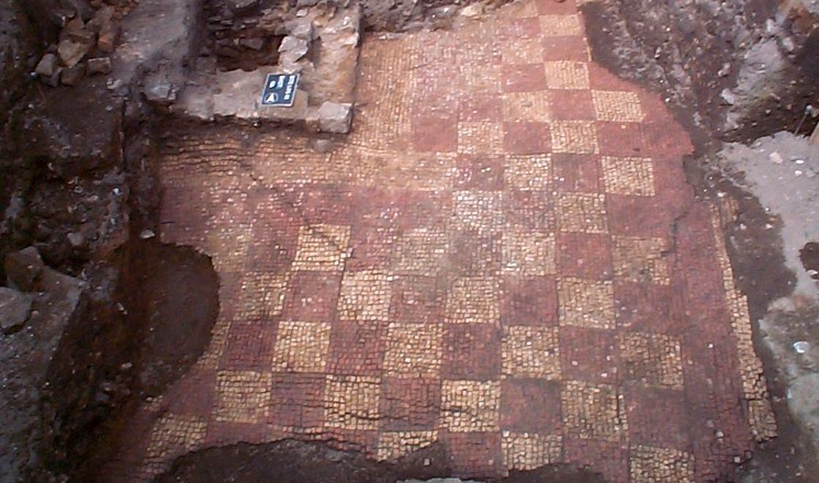 The late Roman chequerboard mosaic