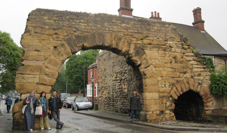 Lincoln's famous Newport Arch