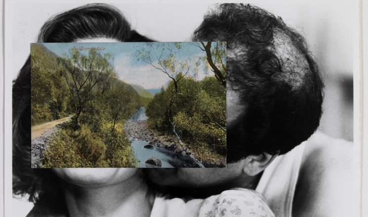John Stezaker Pair V Collage © the artist. Courtesy the Arts Council Collection