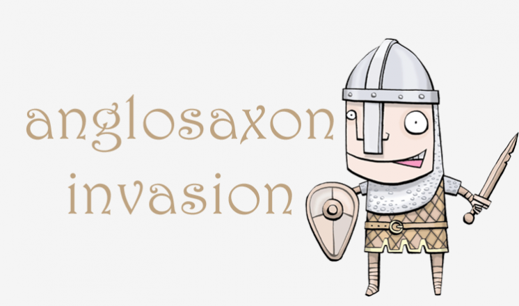 Invasion! - Anglo-Saxon Family Fun Day | The Collection Funny Adults Cartoon Image