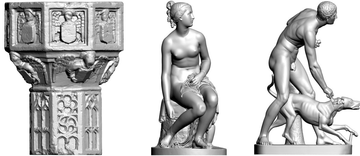 Lincoln 3D scans