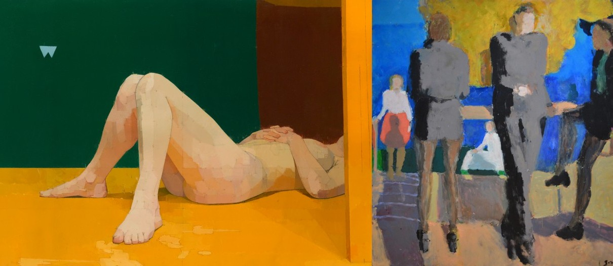 Euan Uglow/Sargy Mann