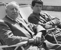 Mattei Radev (right) with good friend E.M. Forster