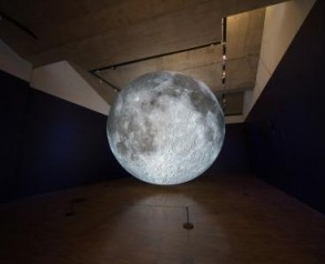 Luke Jerram's Museum of the Moon, photograph by Keith James, 2019